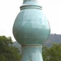epi de faitage boule turquoise