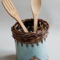 égouttoir poterie vannerie