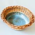 coupe à fruits vannerie poterie associées