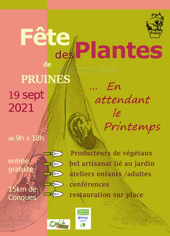 Fete des plantes de Pruines 2021